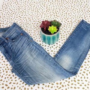 Madewell High Riser Skinny Jeans 27